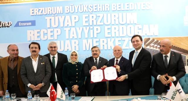 Büyükşehir ve Tüyap Arasında İşbirliği Protokolü