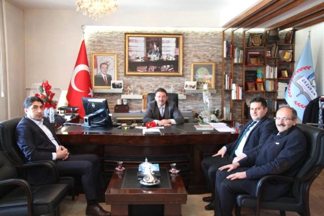 Yeşilay Cemiyeti Erzurum Şube Başkanı Salih Kaygusuz'dan Yıldız'a Ziyaret