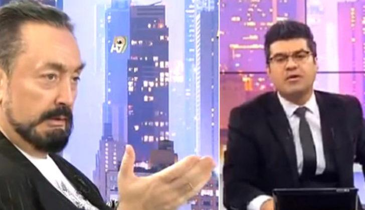 Akit TV spikerinden Adnan Oktar'a çağrı! 'Kurban olayım tövbe et'