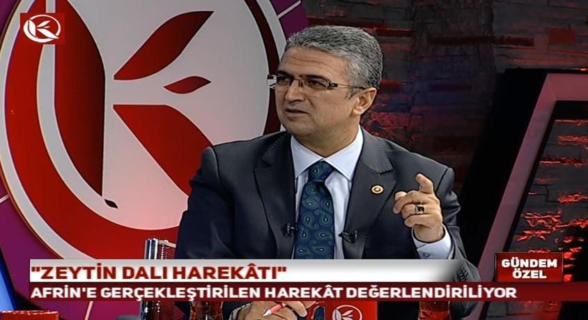 """Prof. Dr. Aydın: """"Bu operasyon sadece Afrin ve Münbiç ile kalmayacak"""""""