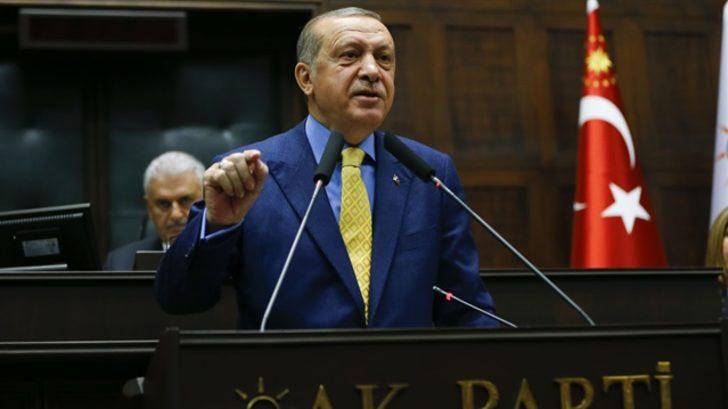 Erdoğan, grup toplantısında konuştu