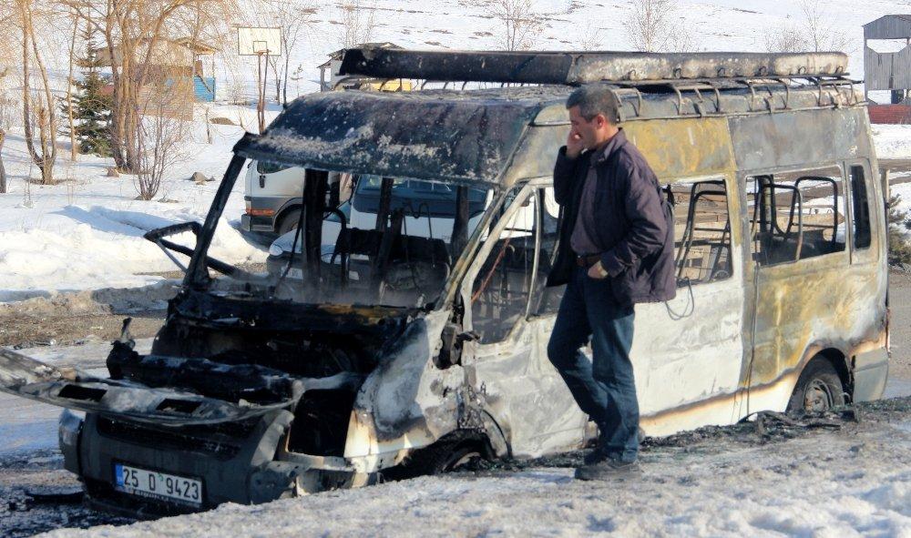 Erzurum'da 5 kişi ölümden döndü