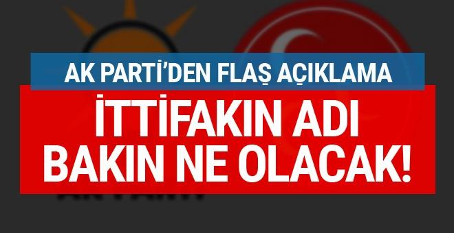 AK Partili Yazıcı'dan son dakika ittifak açıklaması