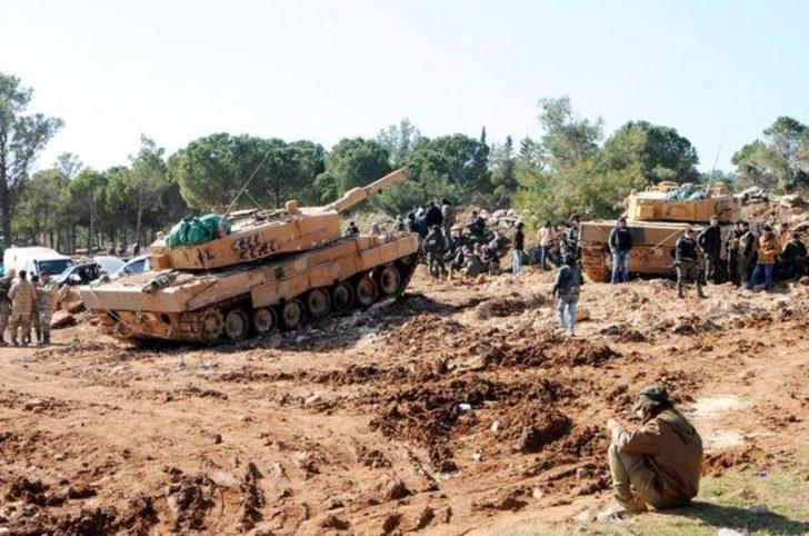 Afrin'de son gelişme: Cep'ler tek tek birleşiyor