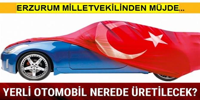 Yerli Otomobilin Şarj Üniteleri Erzurum'da Üretilecek