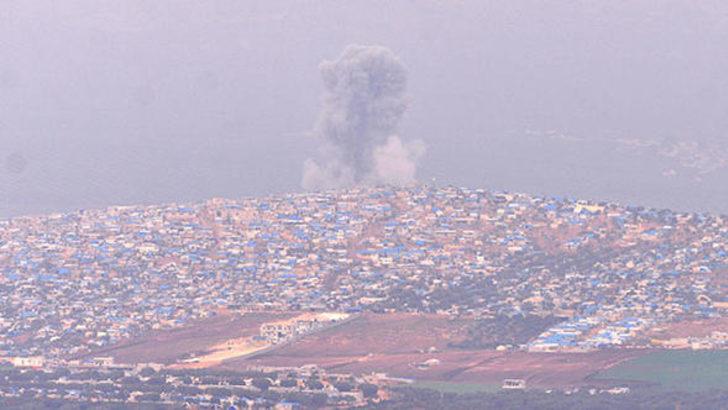 Teröristler ateş altında! Cinderes'ten dumanlar yükseliyor