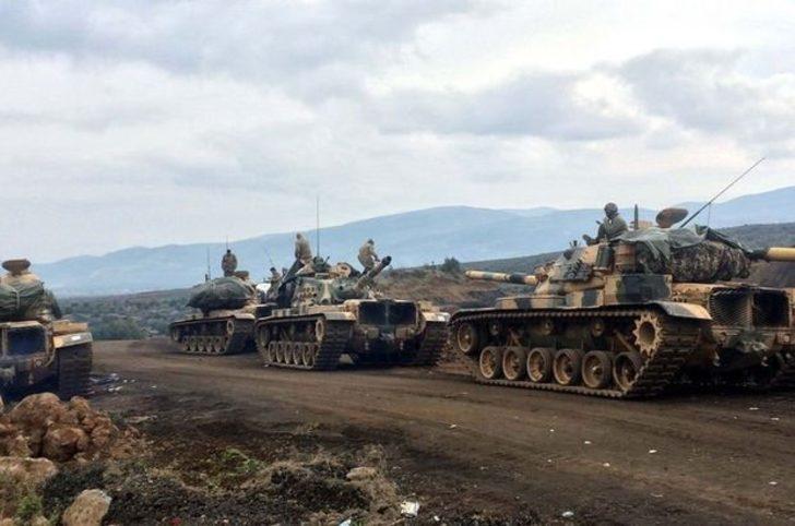 Afrin'de PKK/PYD'nin kuzey hattı çökertildi