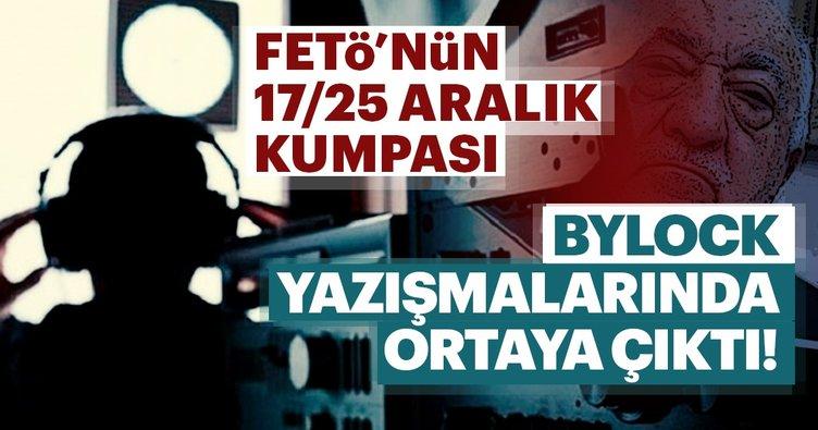 FETÖ'nün 17/25 Aralık kumpasının şifreleri ByLock'ta
