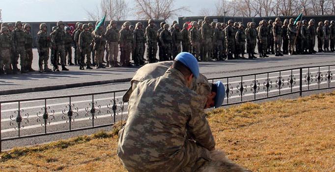 Afrin şehidi 9 asker, Tatvan'dan uğurlanmıştı
