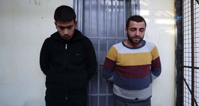 Afrin'de yakalanan teröristlerden 'maaş' itirafı