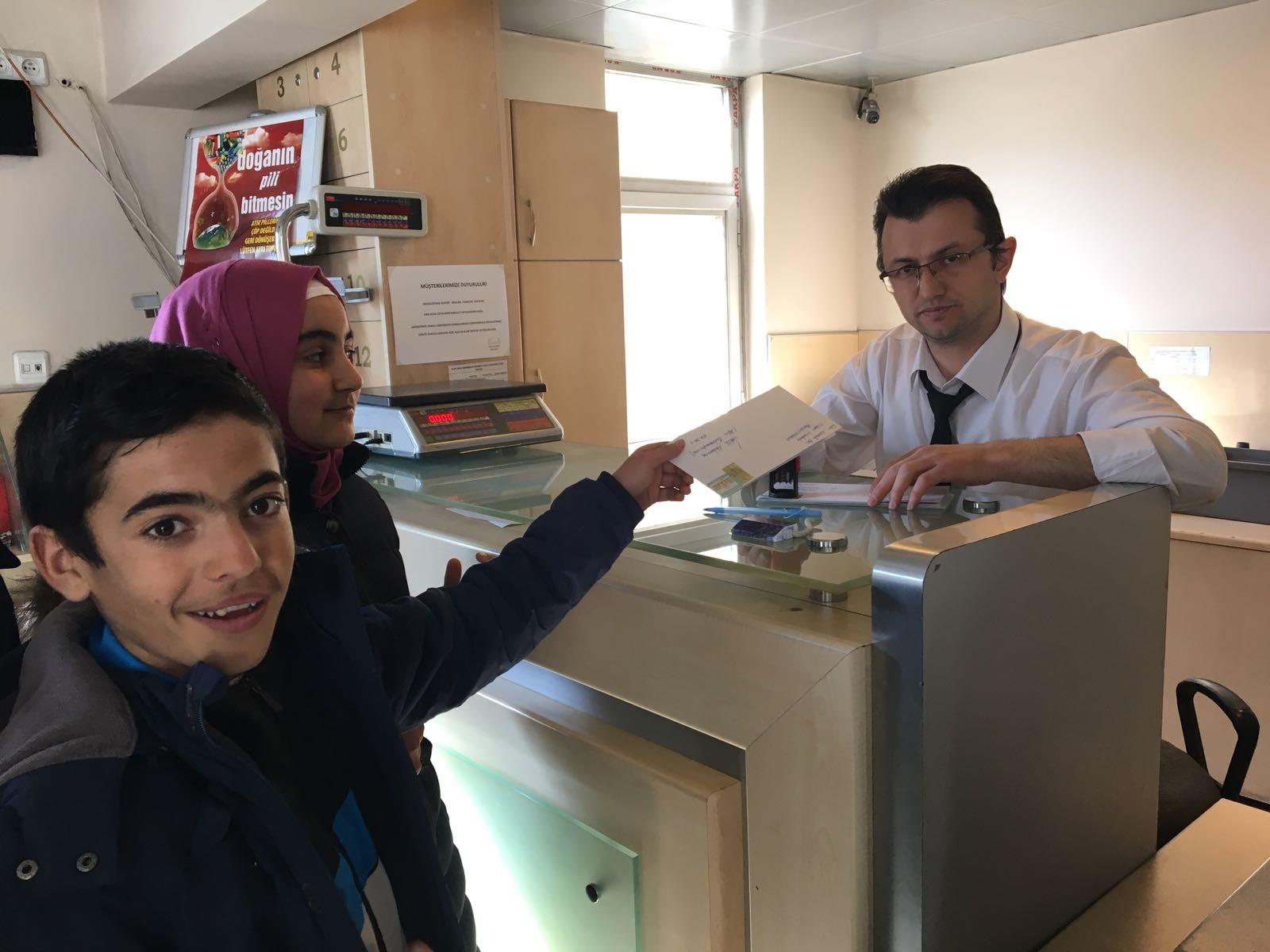 Pasinler'den Afrin'deki Mehmetçiklere mektup