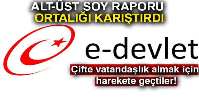 e-Devlet soyağacı uygulamasına bakan, çifte vatandaşlık için harekete geçti!