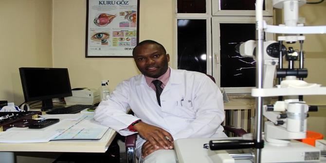 Erzurum'un Türkiye Aşığı Tanzanyalı Doktor'u
