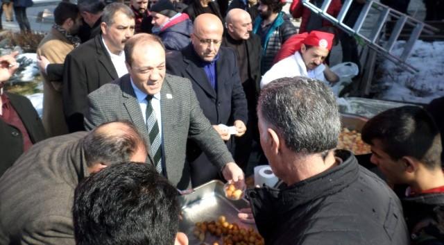 MHP Erzurum İl Başkanlığı Afrin ve Tüm Vatan Şehitleri İçin Fatiha'da...