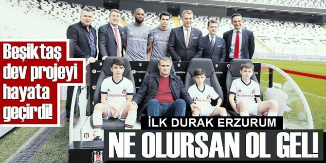 """""""Vodafone Geleceğin KaraKartalı""""nda ilk durak Erzurum"""