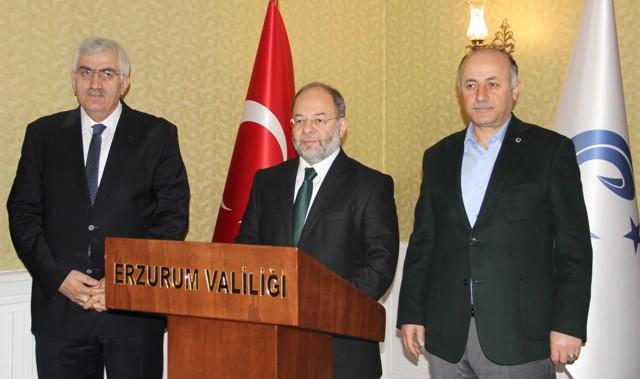 Bakan Akdağ'dan Erzurum'da açıklamalar