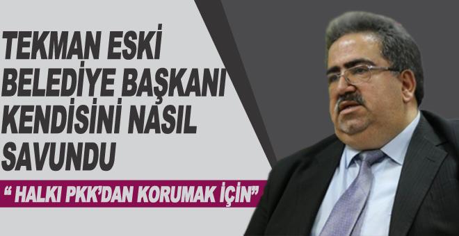 Halkı PKK'dan Korumak İçin...