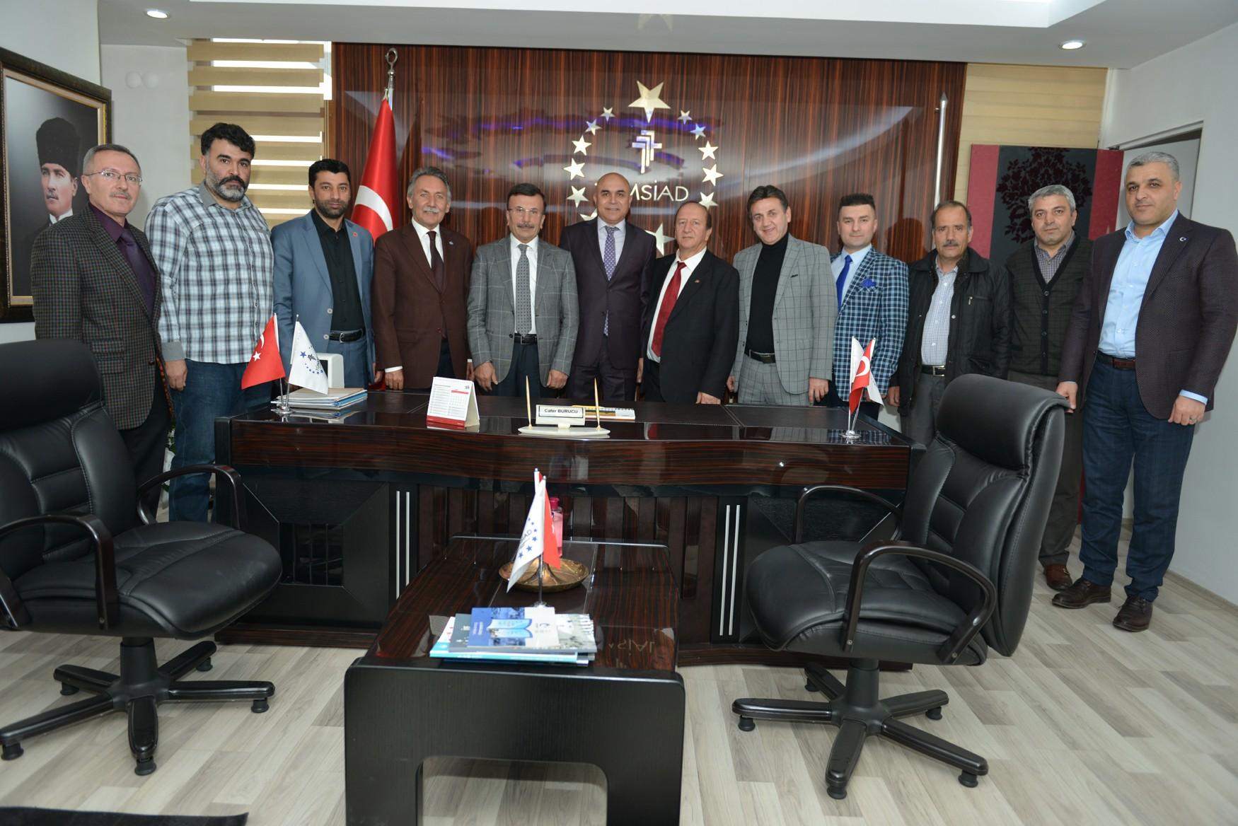 Başkan Korkut, TÜMSİAD üyeleri ile buluştu
