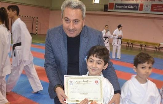Çelebi Spor Kulübü'nden İstiklal Marşı Jesti
