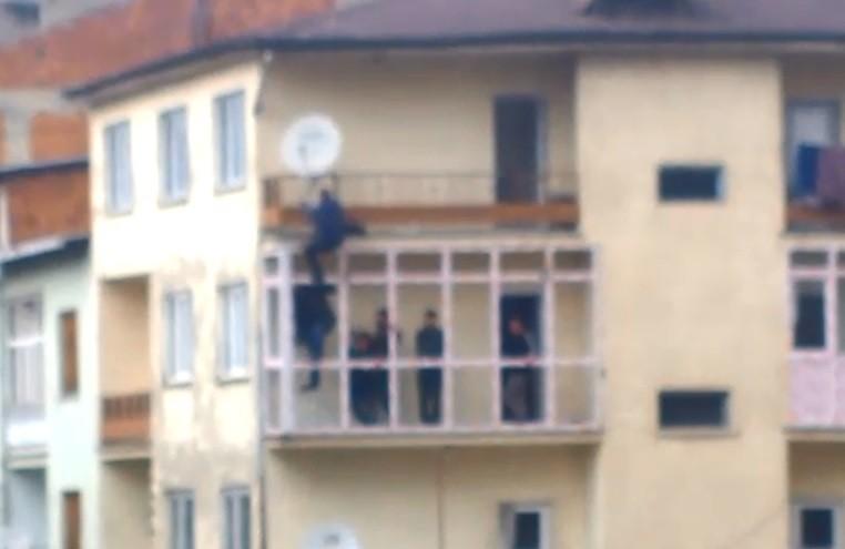 Balkon kaplama işçisi ölümü hiçe saydı