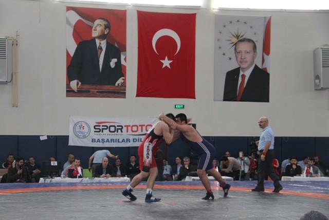 TEDAŞ Güreş Takımı Erzurum'da