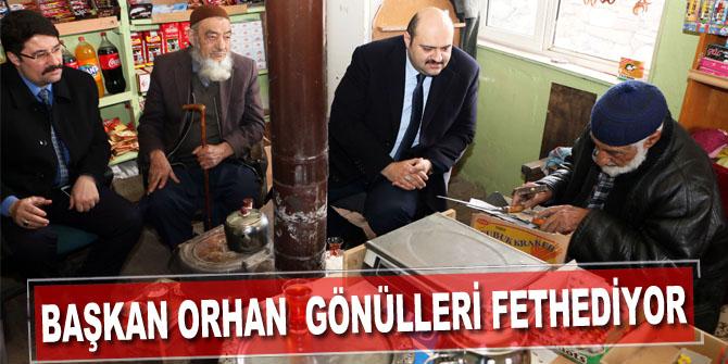 Başkan Orhan, gönülleri fethetmeye devam ediyor