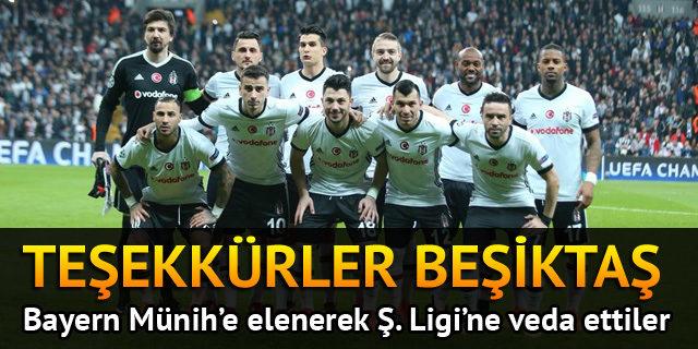 Beşiktaş 1 - 3 Bayern Münih
