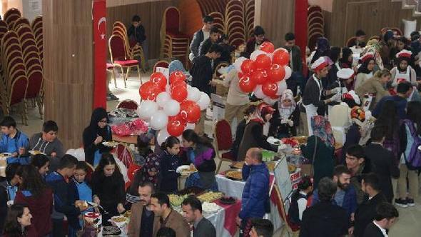Öğrenciler, Afrin için mutfağa girdi