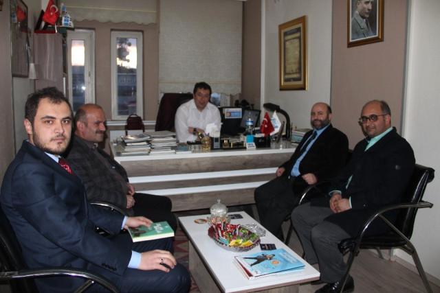 Erbakan Vakfı'ndan Türkez'e Teşekkür Ziyareti