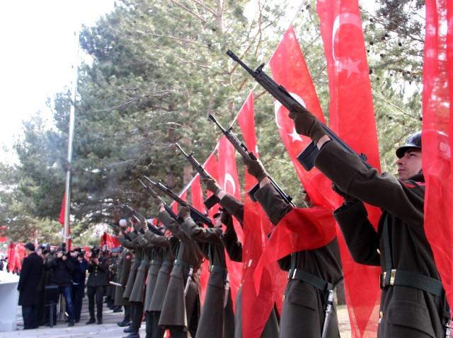 Çanakkale Zaferi'nin 103. Yıl Dönümü Erzurum'da Kutlandı