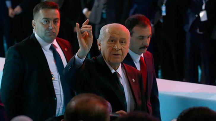 MHP Lideri Devlet Bahçeli: Milliyetçi, ülkücü hareket bugün tarih yazıyor