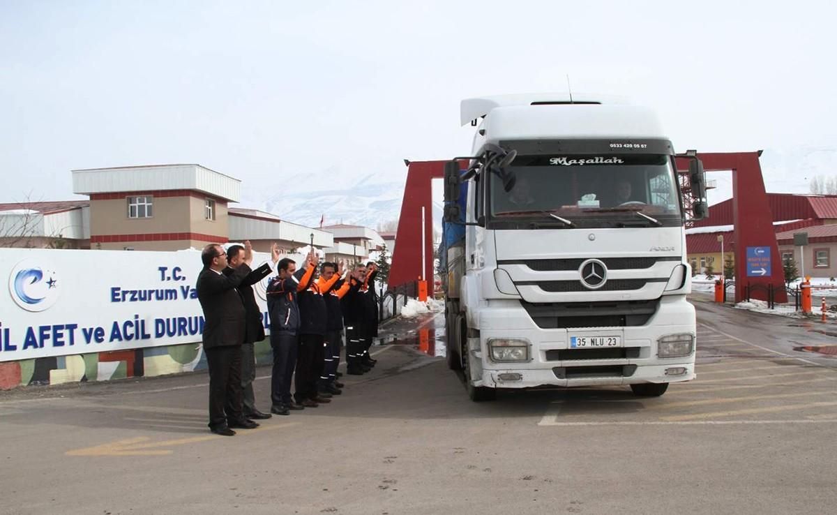 AFAD Erzurum El Bab'da