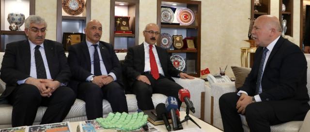Kalkınma Bakanı Elvan Erzurum'da