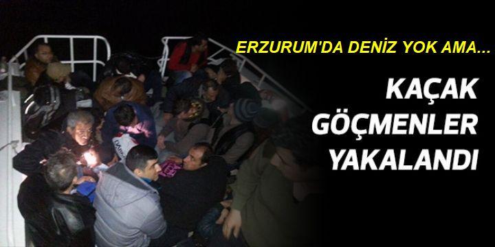 Erzurum Kaçak göçmen cennetine döndü
