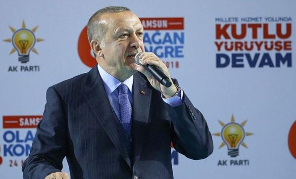 Erdoğan Diriliş hareketi başladı