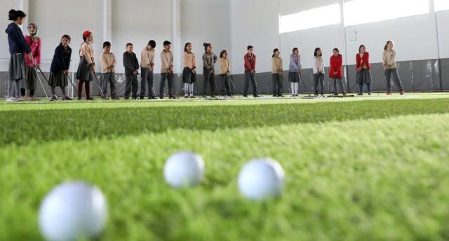 Büyükşehir Geleceğin Golfçülerini Yetiştiriyor