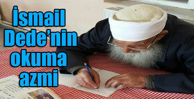 Erzurum'da 87 yaşında okuma yazma öğreniyor
