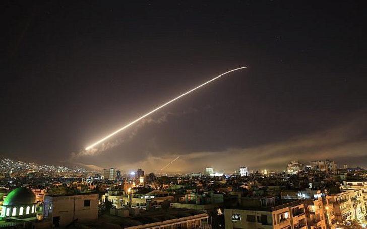 Suriye'de vurulan tesislerin uydudan görüntüleri ortaya çıktı