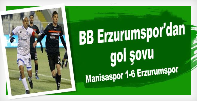Manisaspor 1-6 Erzurumspor