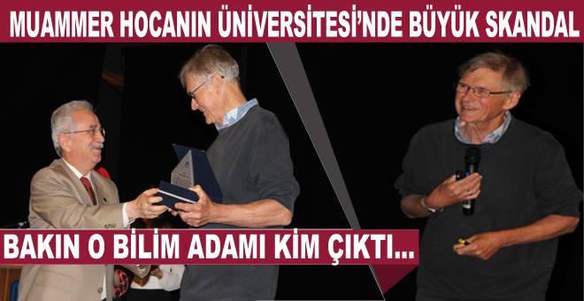 ETÜ ve Rektörü bir skandala imza attı!...