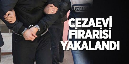 Cezaevinden Firar Eden Mahkum Bayburt'ta Yakalandı