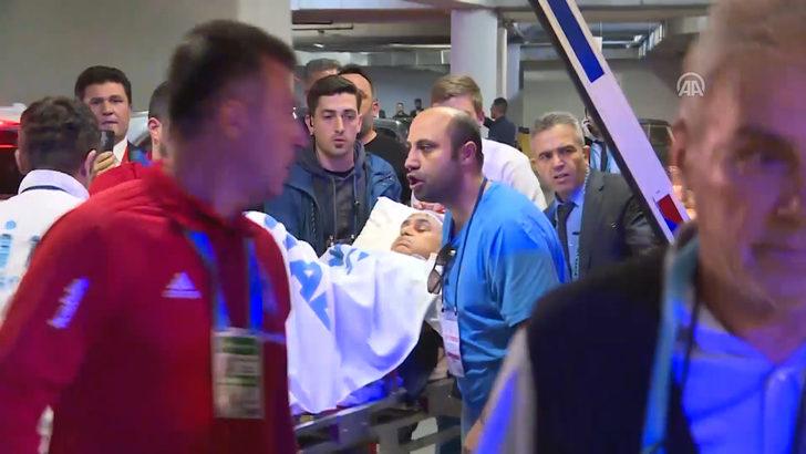 Fenerbahçe-Beşiktaş derbisinde Şenol Güneş yaralandı!