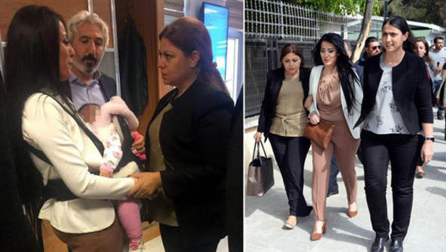 Öğretmen Ayşe Çelik, 8 aylık bebeğiyle bugün cezaevine girdi