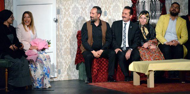 Erzurum'un Tiyatrocu Turizm Müdürü