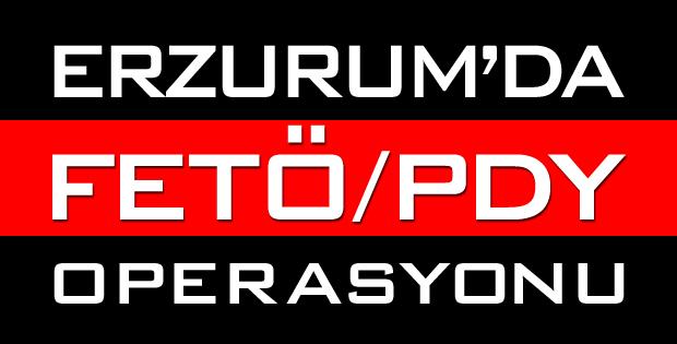 Erzurum Merkezli 9 İlde Fetö/pdy Operasyonu