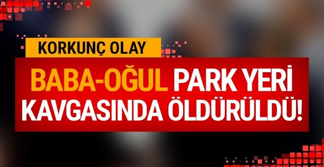 Bayburt'ta park yeri kavgası: 2 ölü