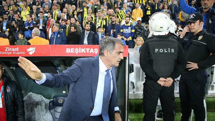 Şenol Güneş olaylı Fenerbahçe-Beşiktaş derbisine gitmeyecek