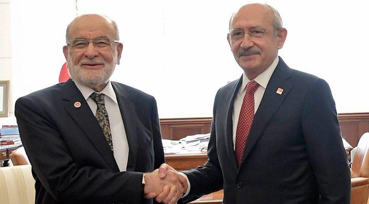 CHP'den Saadet Partisi'ne 20 milletvekili teklifi