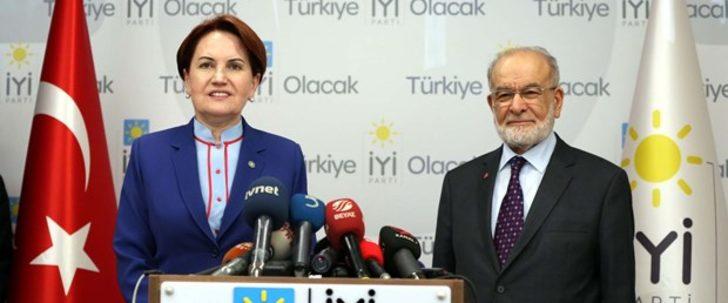 Meral Akşener-Temel Karamollaoğlu görüştü