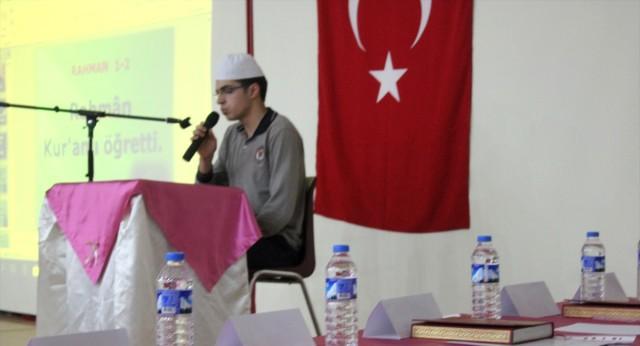 Oltu'da Kur'an-ı Kerim'i Güzel Okuma Yarışması